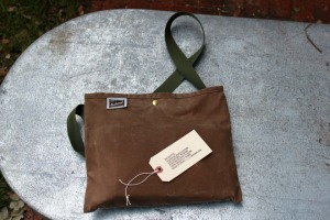 Waxed Canvas Musette